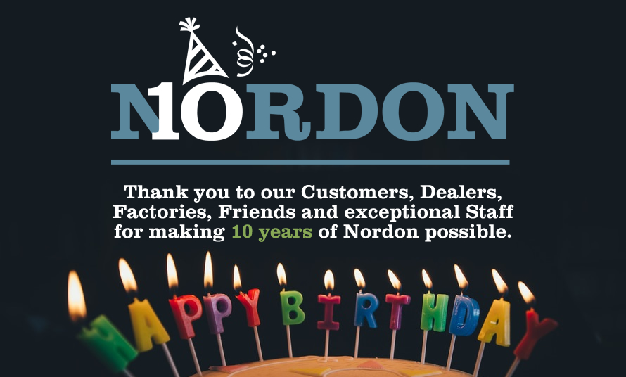 Nordon Celebrates 10th Anniversary