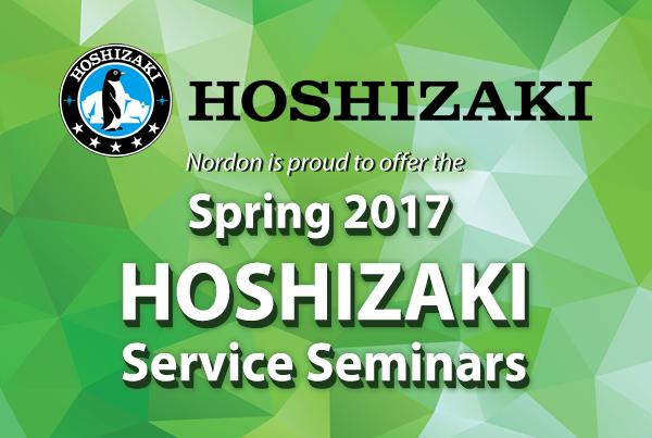 Hoshizaki Service Seminar at Nordon