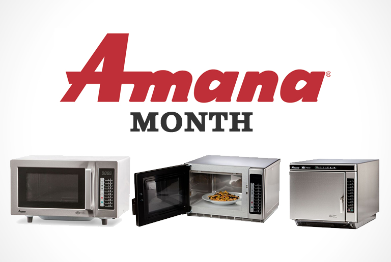 Amana month – Nordon | Commercial Food Service Kitchen Equipment