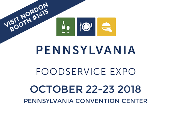 Nordon at the Pennsylvania Foodservice Expo Oct. 21-23 Booth #1415