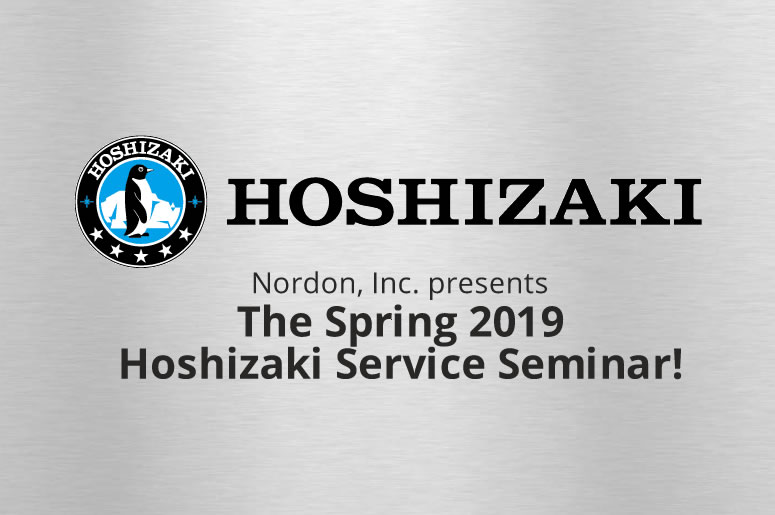 Spring 2019HoshizakiService Seminar